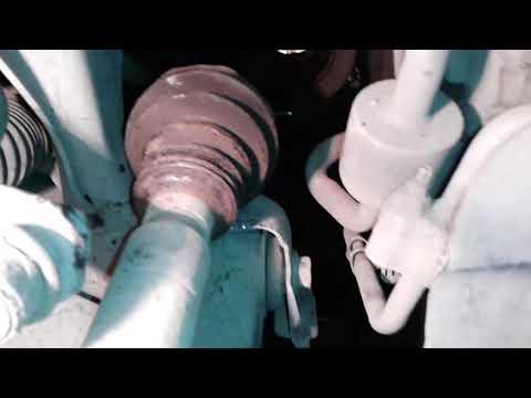 форд фокус 3 стук в подвеске при троганье,смена опорных подшипников и сальника правого привода
