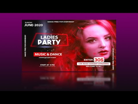 How To Make Event Flyer Design - Photoshop Cc