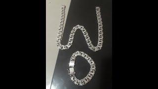 DIY Como Limpar CORRENTE  Prata #youtube#wdc faça você mesmo#prata