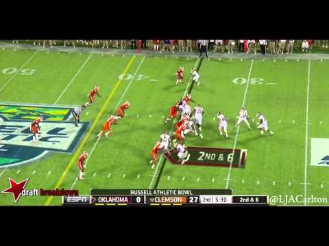 Garry Peters vs. Oklahoma 2014