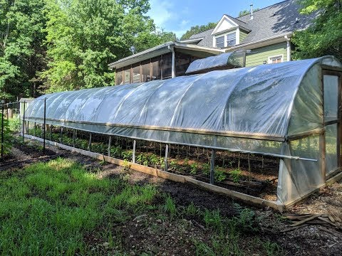 DIY PVC GREENHOUSE