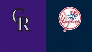 Colorado #Rockies vs New York #Yankees MLB Live Stream Play by Play