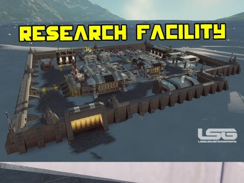 Space Engineers - Research Facility 881