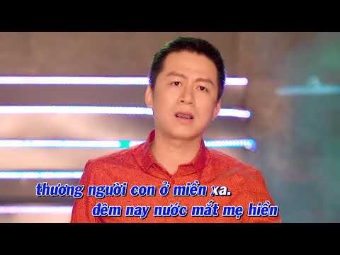 Karaoke | Nước mắt mẹ hiền (Ngọc Sơn) - Quang Long Bolero 2018 | Nhạc Bolero trữ tình rất hay