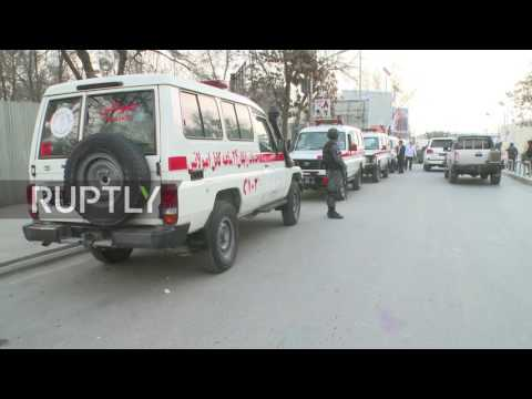 Afghanistan: Gunmen launch attack on Kabul's biggest military hospital