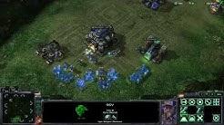 StarCraft 2 TERRAN Gameplay