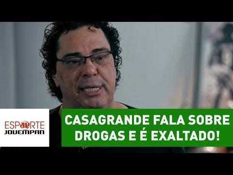 Casagrande Fala Sobre DROGAS Na GLOBO E é EXALTADO!