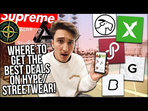 WHERE TO BUY DESIGNER AND HYPE CLOTHING! (Supreme, OFF-WHITE)