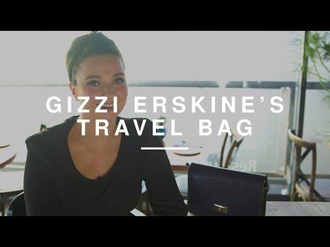 Gizzi Erskine - What's In My Travel Bag   Wild Dish
