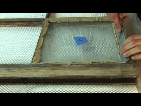 How-To Apply Allback Linseed Oil Window Glazing Putty