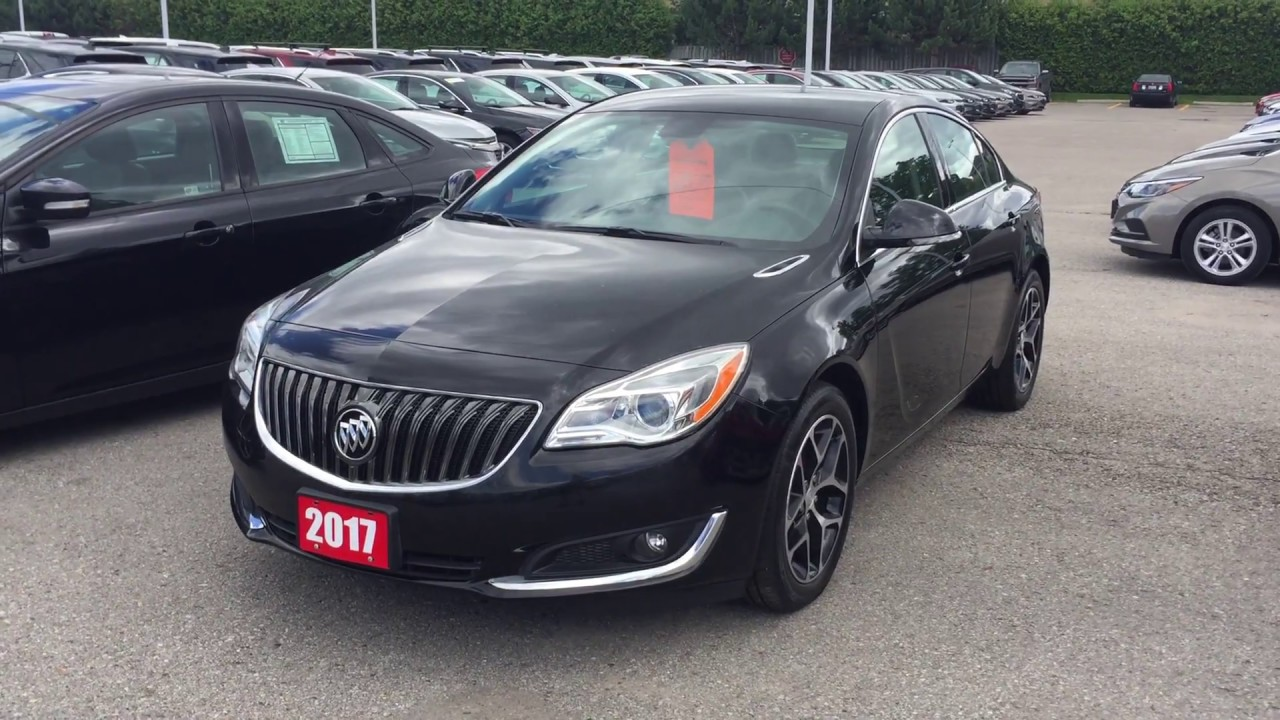 2017 Buick Regal Sport Touring Ebony Twilight Metallic Roy Nichols