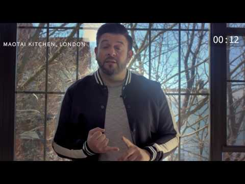 15 Second Challenge with Adam Richman: 5 Places to Eat At Outside USA