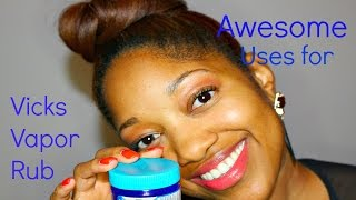 Awesome Tips & Tricks on How To Use Vicks Vapor Rub
