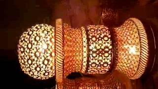 crystal wedding mandap pillar