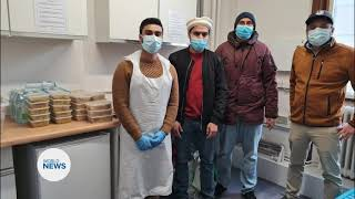 Khuddam UK provide support to Covid-19 vaccination centres