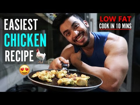 EASIEST CHICKEN RECIPE (HEALTHY + TASTY)