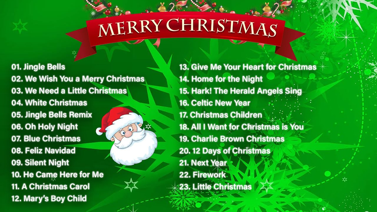 Best Christmas Songs Playlist Christmas Music 2020 Top Christmas Songs 2020 Youtube