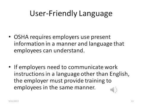 OSHA Labels Revised Hazard Communication Standard 2012