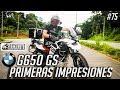 BMW G650 GS Primeras Impresiones