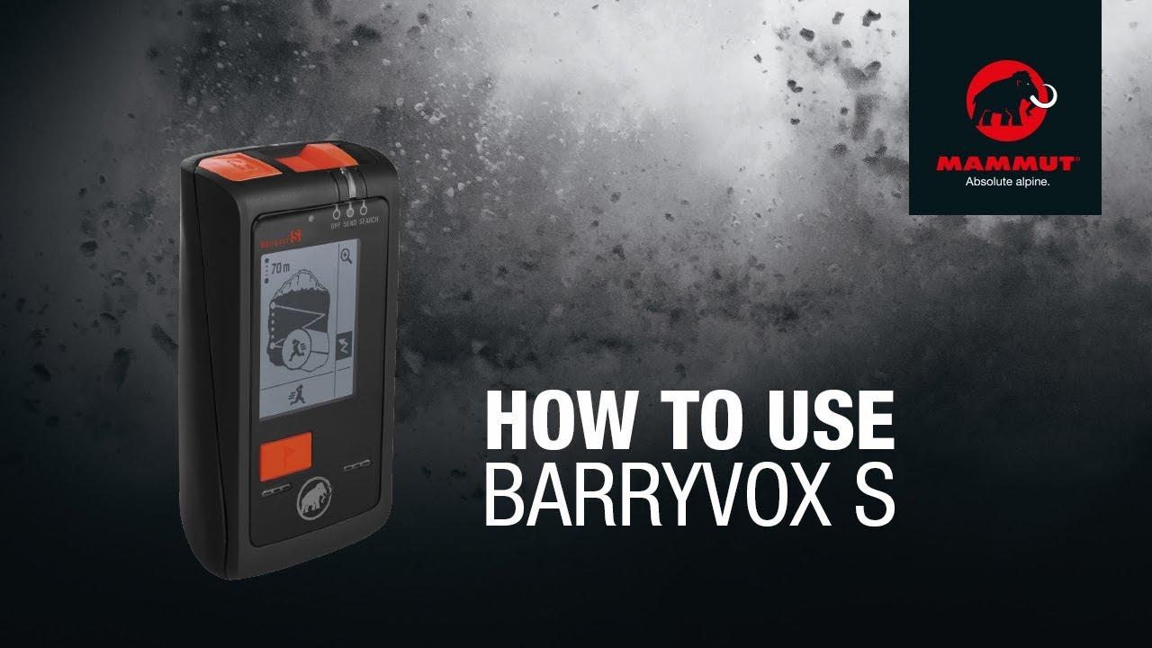 Mammut Barryvox S LVS-Gerät
