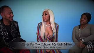 "BA Behind The Scenes: Yung Miami Plays ""Cards For The Culture: Baller Alert Edition"""