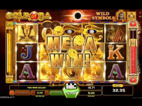 Gold of Ra Slot (GameArt) - Freespin Feature with 5 Euro Bet - Big Win