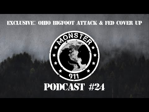 "EXCLUSIVE-""Ohio Bigfoot Attack & Fed Cover-up"", Episode #24--Dogman Sasquatch Oklahoma Encounters"