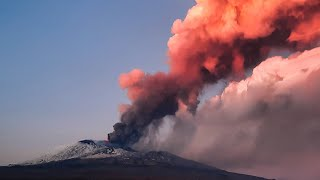 video: Mount Etna spews smoke and ashes in spectacular new eruption