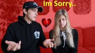 FORGETTING VALENTINES DAY PRANK!!!  *GETS INTENSE*