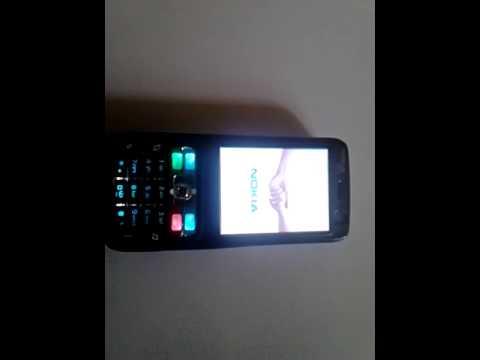 Nokia N73 with Nokia C3 Startup Sound