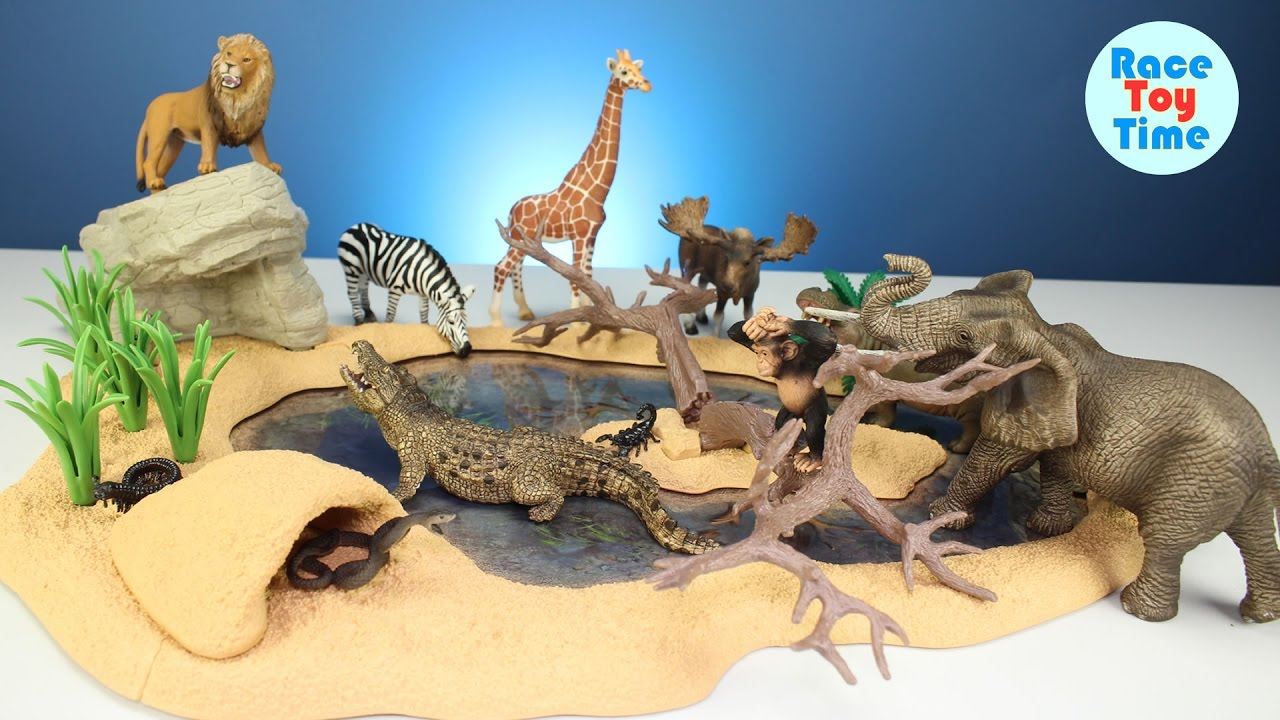 Safari Zoo Wild Animals Toys Schleich Toys Collection