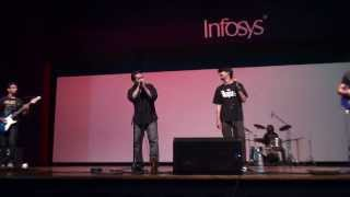 Smoke On Water (Deep Purple Cover) - Infosys Bangalore Music Show