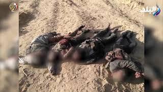 القوات المسلحة: مقتل 126 تكفيريا فى مداهمات وعمليات نوعية بشمال ووسط سيناء