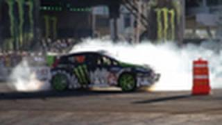 SEMA 2010: Ford/Monster Drift + Gymkhana Ride Along feat. Vaughn Gittin Jr. & Ken Block