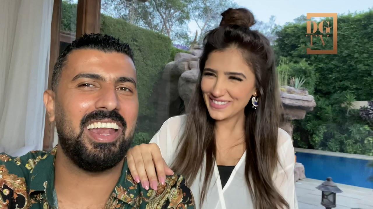 مي عمر (الست ليل) و محمد  سامي في لقاء حصري مع ديرجست باز.. DG Buzz