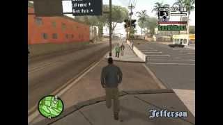 GTA San Andreas Gizli Silah Yerleri 1