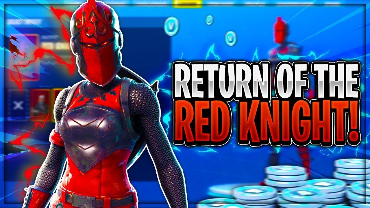 red knight outfit is returning to fortnite new red knight leaks fortnite battle royale - fortnite spiderman leak