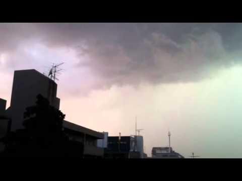 Thunder Storm in Suginami-ku