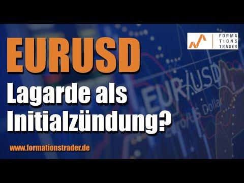 EURUSD: Lagarde als Initialzündung?