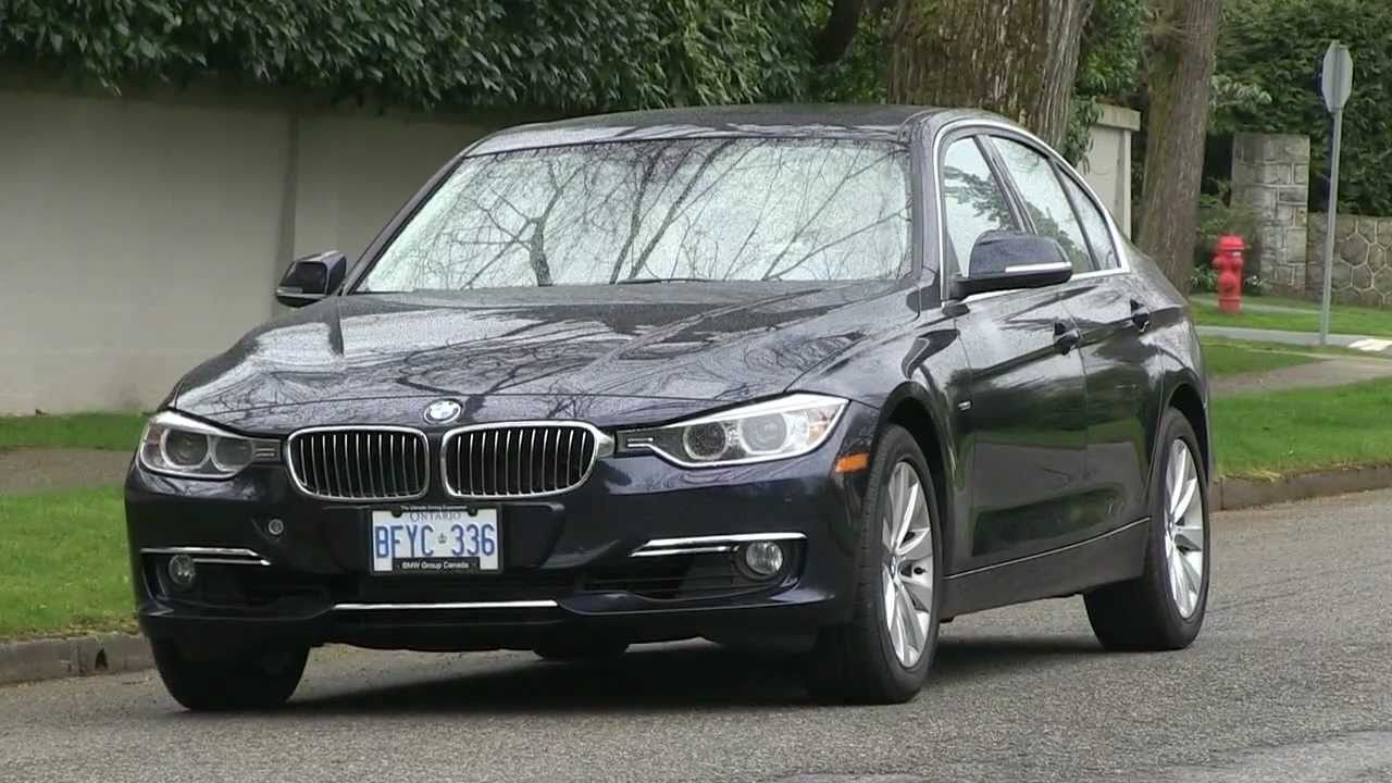 2012 BMW 328i (F30) review - YouTube