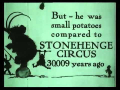 "Tony Sarg's Almanac - ""The First Circus"" (1921)"