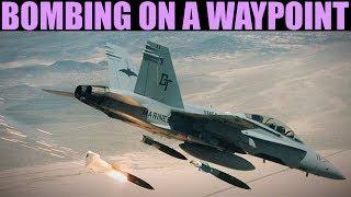 FA-18C Hornet: Bombing On A Waypoint(Auto & CCIP) Tutorial | DCS WORLD
