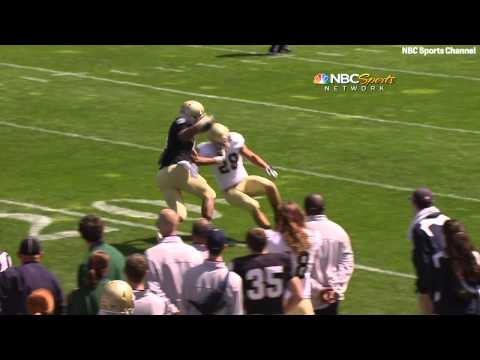 Notre Dame Football - 2012 Blue-Gold Game Highlights
