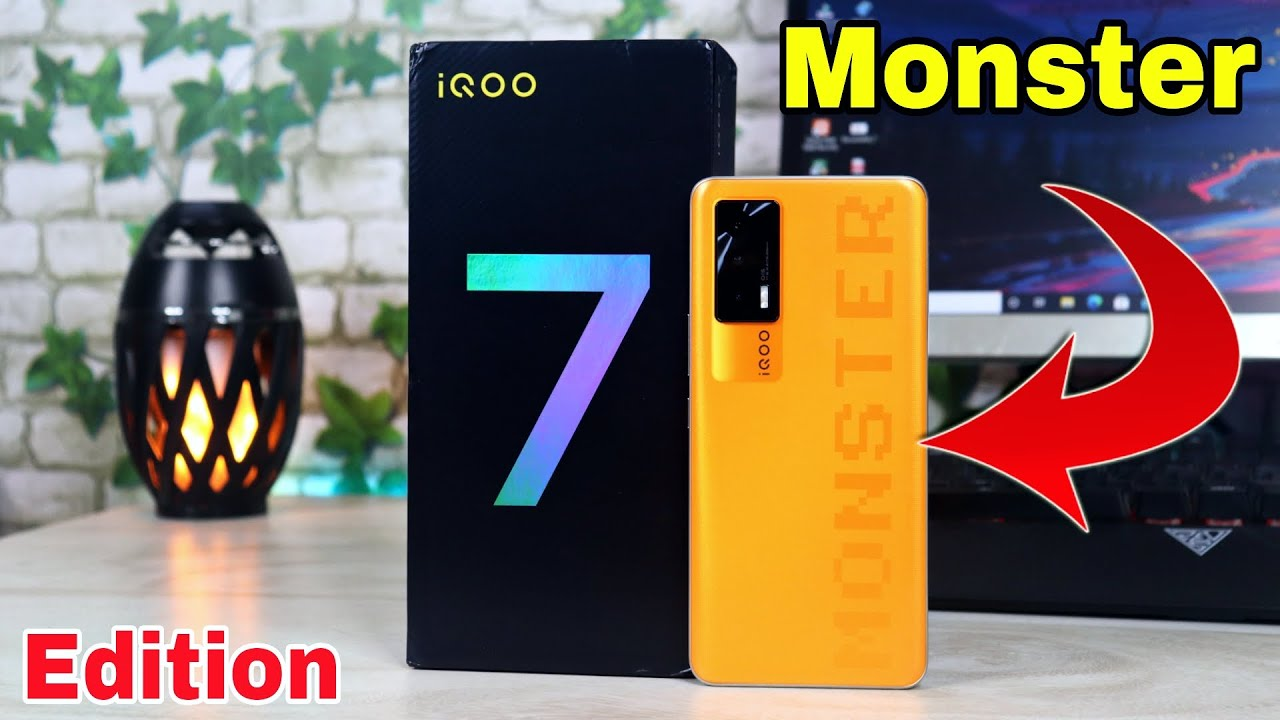 iQOO 7 Monster Edition Unboxing 🔥 | SD 870 | 120 Hz | Power House