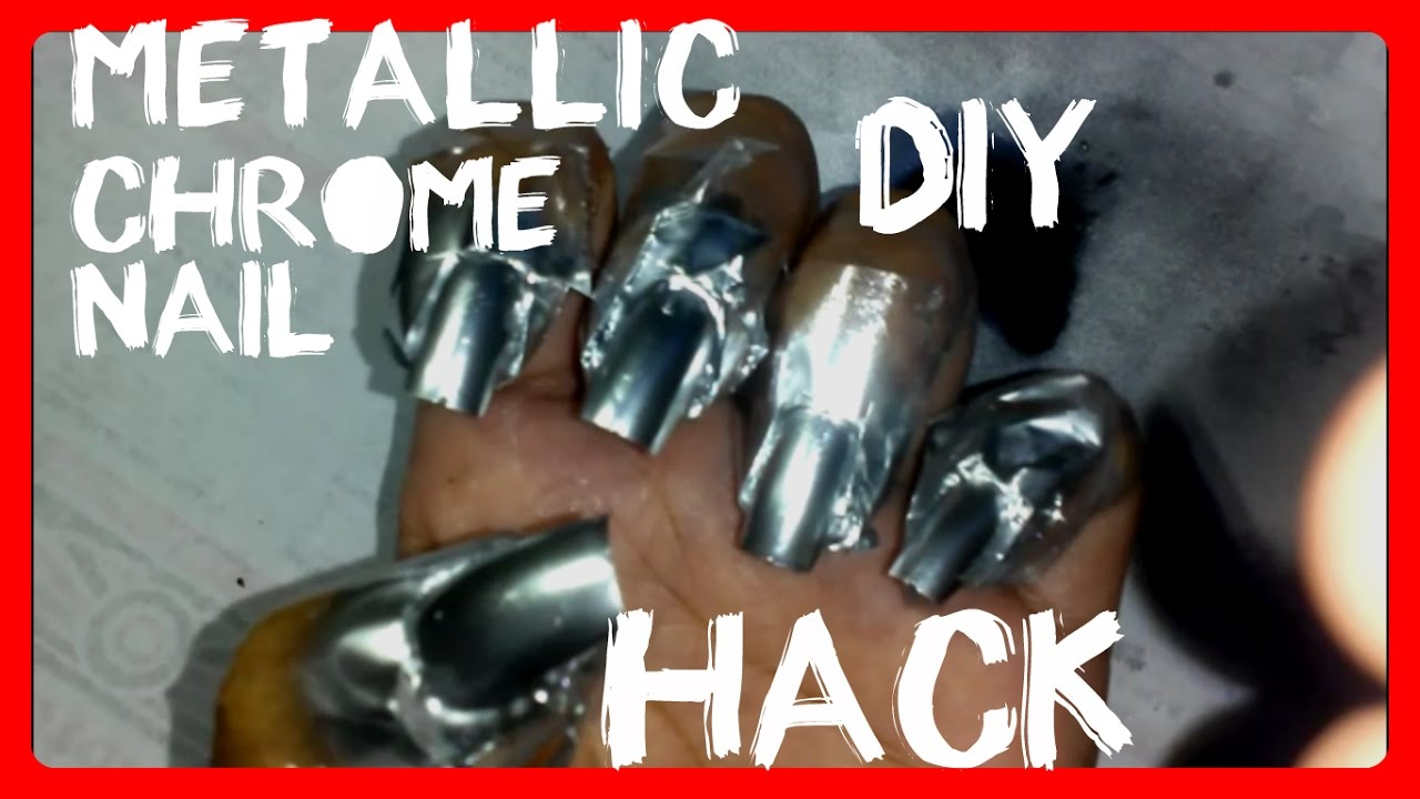 chrome nails home
