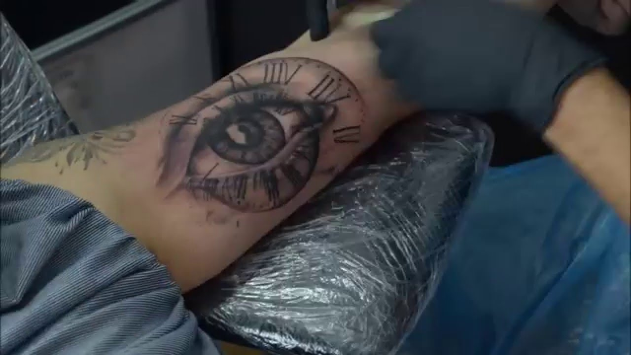 Time lapse eye tattoo youtube for Tattoo photos 2017