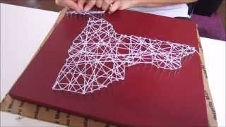 Diy String Art New York Home Decor
