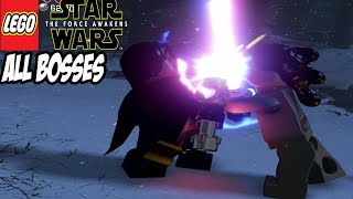 LEGO Star Wars The Force Awakens - All Bosses