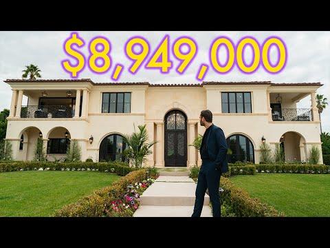 Inside a $9 Million Dollar Tuscan Mansion in Palos Verdes California