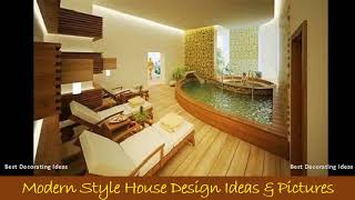 Bamboo bathroom design | Room decoration interior picture ideas to make your stylish modern
